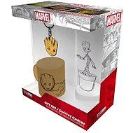 Darčeková sada Marvel - Groot - mini hrnek, sklenice, přívěšek