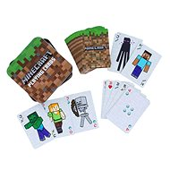Minecraft - Hracie karty v plechovej škatuľke - Karty