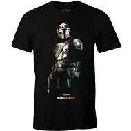 Star Wars Mandalorian – Iron Mando – tričko S - Tričko