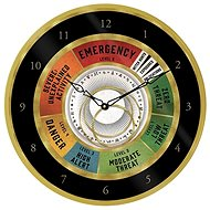 Wizarding World – Emergency – hodiny nástenné