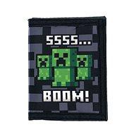 Minecraft – SSSS BOOM – peňaženka - Peňaženka