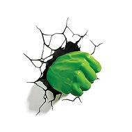 Hulk - Fist - lampa dekorativní na zeď