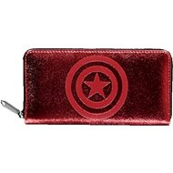 Capitain America – Logo – peňaženka dámska - Peňaženka