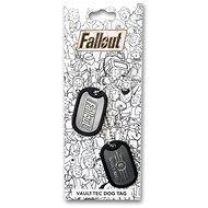 Fallout – psie známky - Prívesok