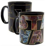 Star Wars – Logo Character – hrnček meniaci farbu