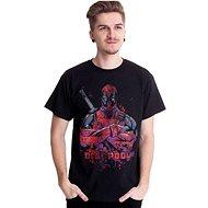 Deadpool – Pose Splat – tričko - Tričko