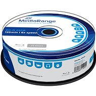 MediaRange BD-R (HTL) 25 GB, 25 ks cakebox