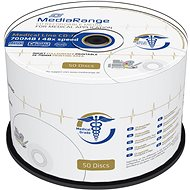 MEDIARANGE CD-R Medical 700MB 48x spindl 50ks Inkjet Printable
