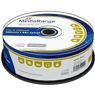 Mediarange CD-R 900MB 48× spindl 25 ks - Médium