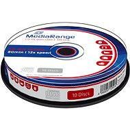 MediaRange CD-RW 10 ks cakebox