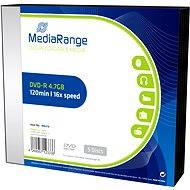 MediaRange DVD-R 5 ks v SLIM škatuľke - Médium