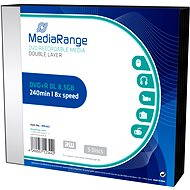 MediaRange DVD+R Double Layer 5 ks v SLIM škatuľke - Médium