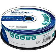 MediaRange DVD+R Dual Layer 8,5 GB, 25 ks - Médium