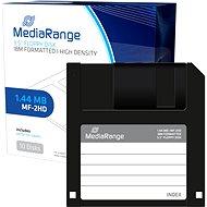 "MediaRange 3,5""/1,44 MB, balenie 10 ks, plast. - Disketa"
