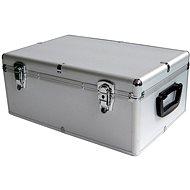 MediaRange DJ Case 500 strieborný - Kufor