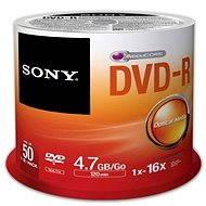 Sony DVD-R 50 ks cakebox - Médium