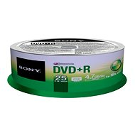 Sony DVD+R 25ks cakebox - Médiá