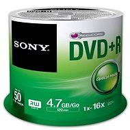 Sony DVD + R 50 ks cakebox - Médium
