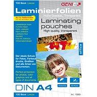 GENIE A4/160 lesklá – balenie 100 ks - Laminovacia fólia