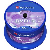 Verbatim DVD+R 16x, 50ks CakeBox - Médium