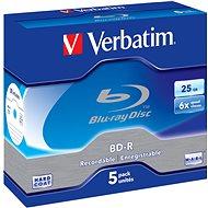 Verbatim BD-R 25GB 6× 5 ks v škatuľke - Médium