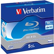 Verbatim BD-R 50 GB Dual Layer 6x, 5 ks v škatuľke - Médium