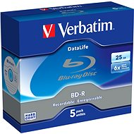 Verbatim BD-R DataLife 25 GB 6x, 5ks - Médium