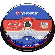 VERBATIM BD-RE SL 25 GB, 2×, spindle 10 ks - Médium