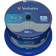 VERBATIM BD-R SL DataLife 25 GB, 6x, spindle 50 ks