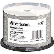 VERBATIM DVD+R DL DataLifePlus 8.5 GB, 8×, thermal printable, spindle 50 ks - Médium