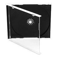 Krabička na 1ks - čierna, 10ks/bal - Obal na CD