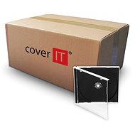 COVER IT 1 CD 10 mm jewel box + tray – karton 200 ks - Obal na CD/DVD