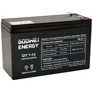 GOOWEI ENERGY OT7-12, 12 V, 7 Ah