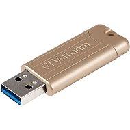 VERBATIM Store 'n' Go PinStripe Anniversary Edition Gold 64GB USB 3.0, zlatý - USB kľúč