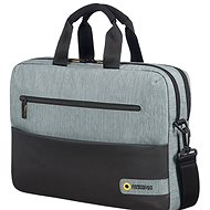 "American Tourister CITY DRIFT LAPTOP BAG 15.6"" BLACK/GREY - Taška na notebook"