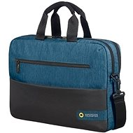 "American Tourister CITY DRIFT LAPTOP BAG 15.6"" BLACK / BLUE"