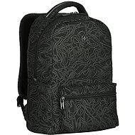"WENGER COLLEAGUE 16"", čierny fern print - Batoh na notebook"