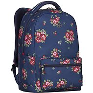 "WENGER COLLEAGUE 16"", navy floral print"