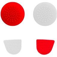Gioteck príchytky pre PS4 červeno-biele - Gripy na ovládač