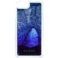 Guess Liquid Glitter Degrade Blue - Ochranný kryt