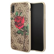 Guess 4G Flower Desire pre Apple ipHone X Brown