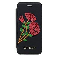 Guess Flower Desire Book pre Apple iPhone X Black