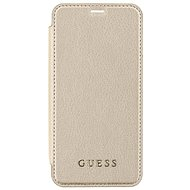 Guess Iridescent Book pre Apple iPhone X Gold