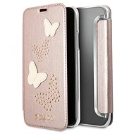 Guess Studs and Sparkle pre Apple iPhone X Rose Gold