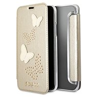 Guess Studs and Sparkle pro Apple iPhone X Beige