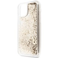 Guess Glitter Hearts pre iPhone 11 Gold (EU Blister) - Kryt na mobil