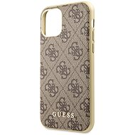 Guess 4G pre iPhone 11 Brown (EU Blister) - Kryt na mobil