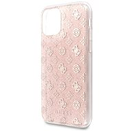 Guess 4G Peony Glitter pre iPhone 11 Pink (EU Blister) - Kryt na mobil