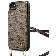 Guess 4G Crossbody Cardslot puzdro na iPhone 7/8 Brown - Kryt na mobil