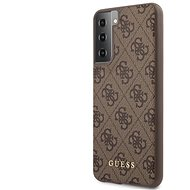 Kryt na mobil Guess 4G Zadný Kryt na Samsung Galaxy S21+ Brown - Kryt na mobil